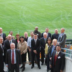 International meeting on sports corruption at the Gabba, Brisbane