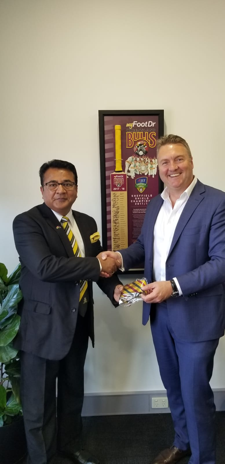 Building engagements with Queensland Cricket CEO Terry Svenson
