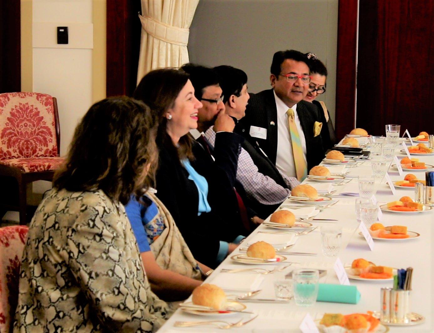 Building engagements with Queensland Premier Annastacia Palaszczuk
