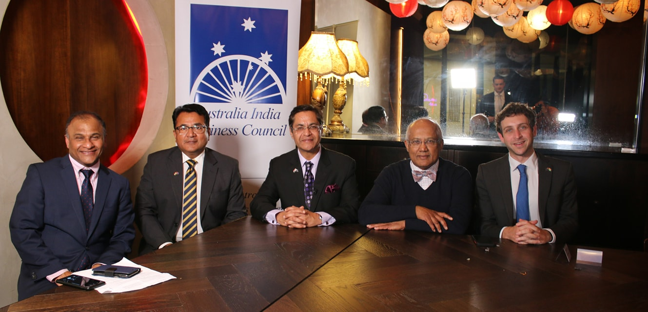 With His Excellency Manpreet Vohra Indian High Commissioner to Australia